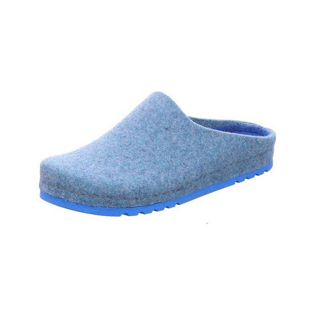 Rohde Hausschuh | Schuhe > Hausschuhe > Klassische Hausschuhe | Blau | Rohde