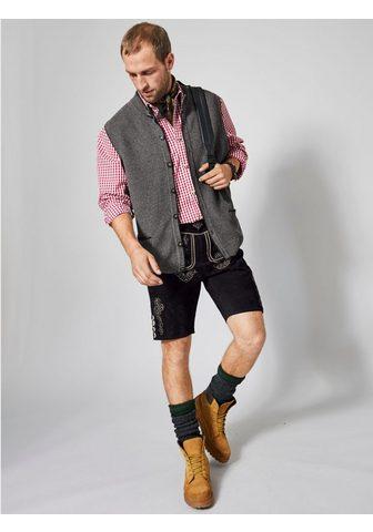 MEN PLUS BY HAPPY SIZE Trumpas Tautinio stiliau odinės kelnės...