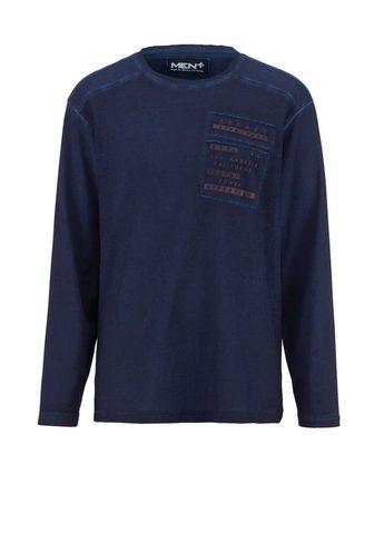 MEN PLUS BY HAPPY SIZE Marškinėliai ilgomis rankovėmis