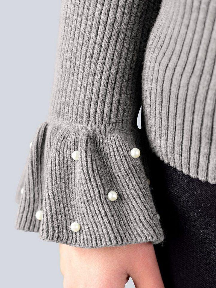 Alba Moda Pullover mit modischen Details