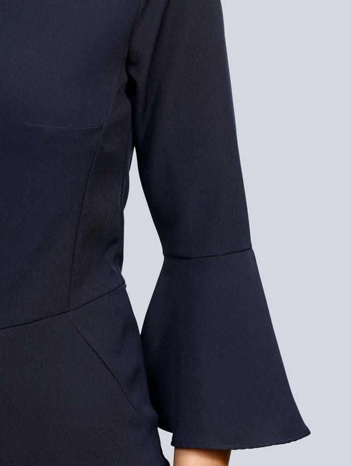 Alba Moda Kleid mit Volants am Ärmalsaum