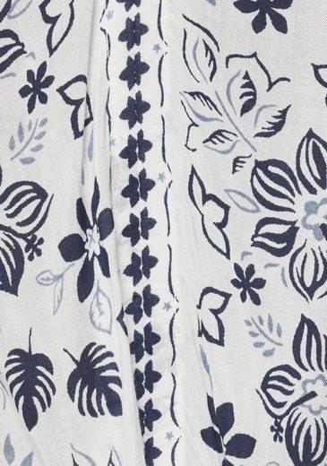 Jeans Mit »erika« Druckkleid Pepe Blumenprint qAOSXxwx