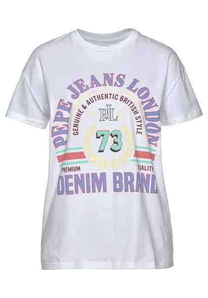 Pepe Jeans T-Shirt »MILA« mit großem Front-Print