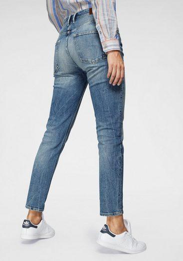 Pepe Jeans Mom-Jeans »VIOLET« High-Waisted mit Used-Effekten