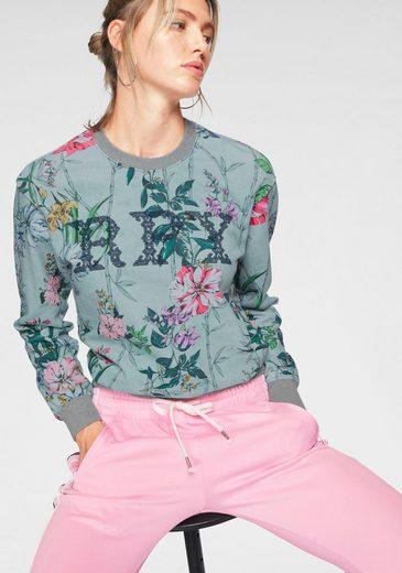 Replay Sweatshirt im floralen Allover-Design
