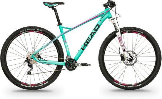 Head Mountainbike »X-Rubi Lady«, 20 Gang Shimano Deorde RDM610 Schaltwerk, Kettenschaltung