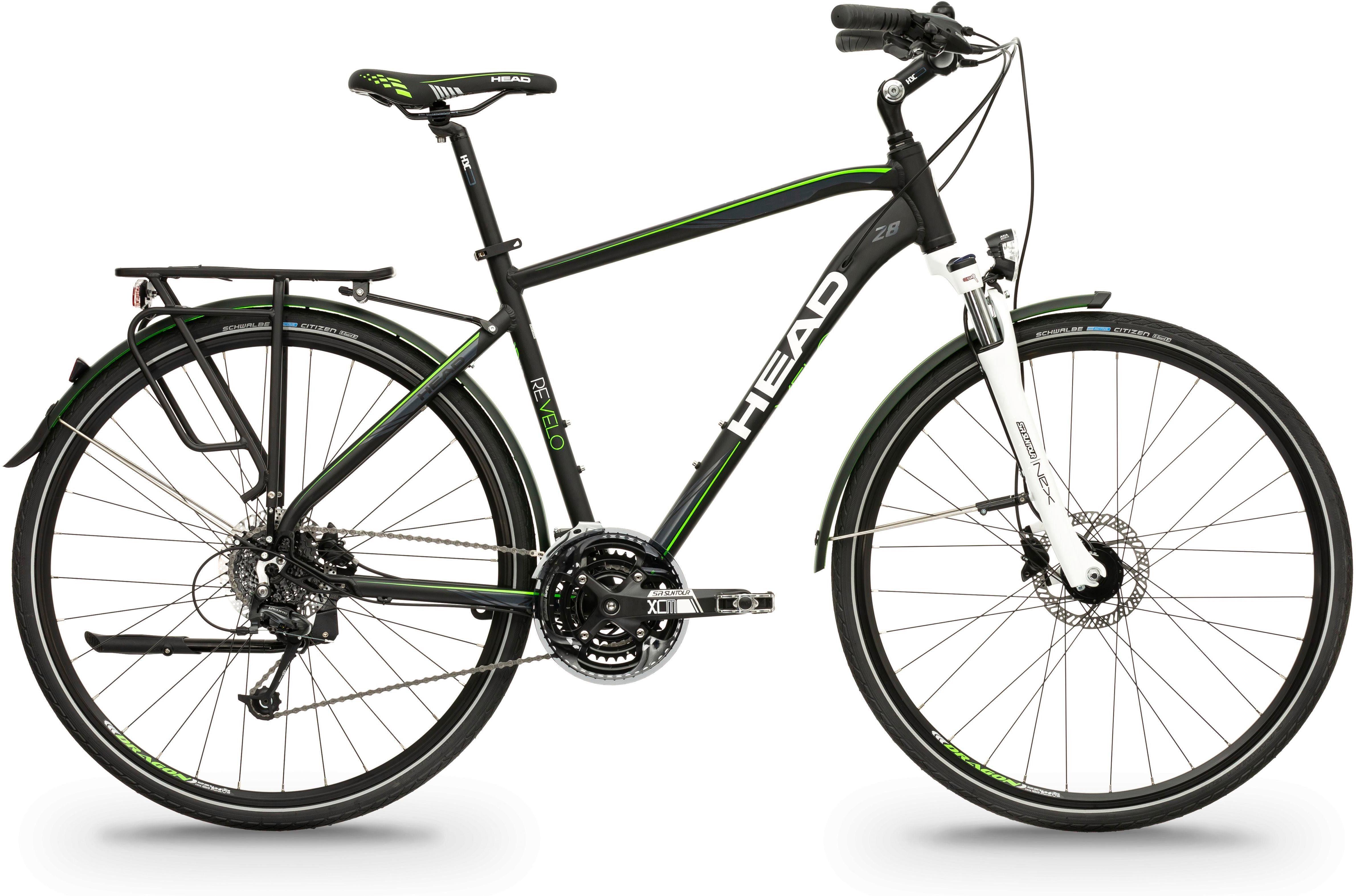 Head Trekkingrad »Revelo II«, 27 Gang Shimano Deore RDM591 Schaltwerk, Kettenschaltung