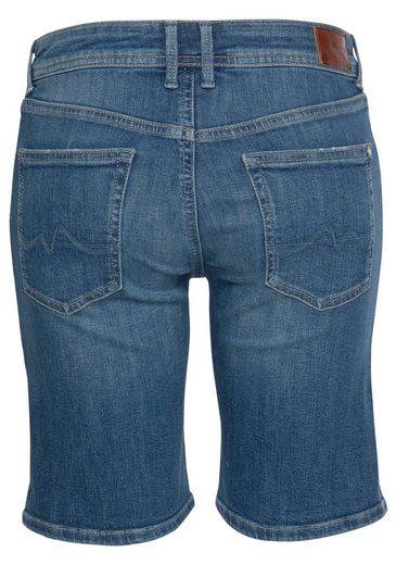 Jeansshorts Krempelbaren »poppy« Beinen Mit Pepe Jeans UWZq55