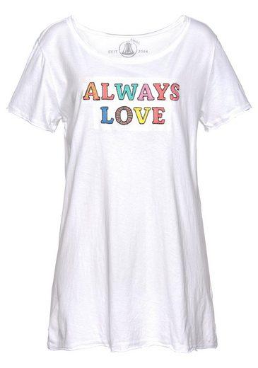 Herrlicher T-Shirt »MILEN« mit farbenfrohem Statement-Print