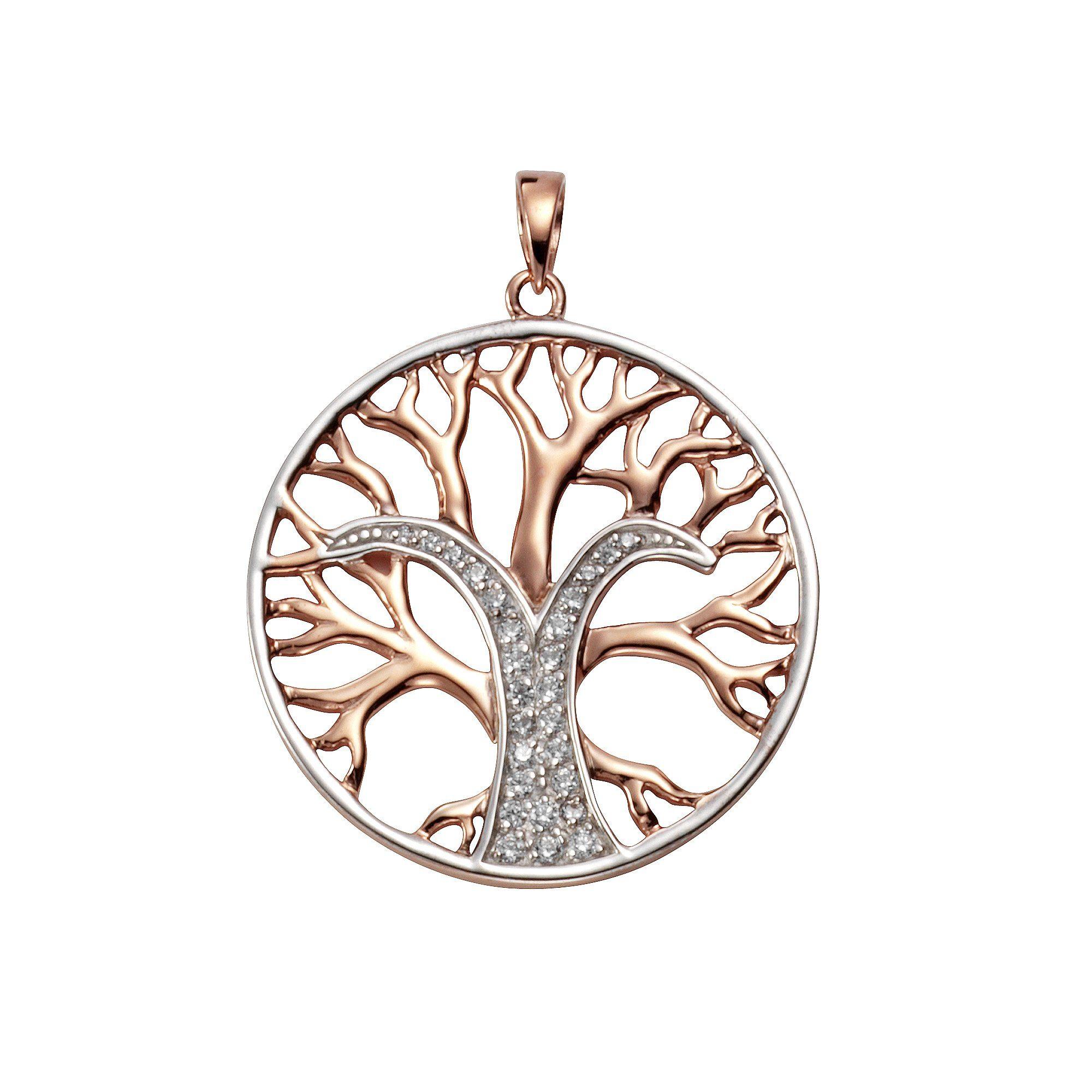 Firetti Anhänger »925/- Sterling Silber Lebensbaum«