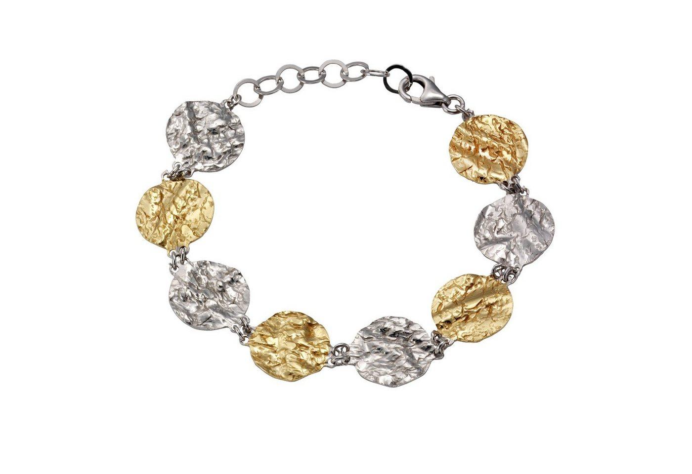 Vivance Armband »925/- Sterling Silber bicolor« | Schmuck > Armbänder > Silberarmbänder | Bunt | Vivance