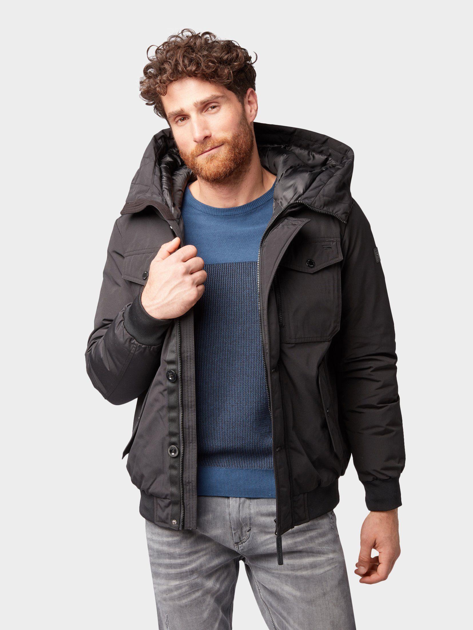 TOM TAILOR Outdoorjacke »Gefütterte Jacke im Blouson-Style«