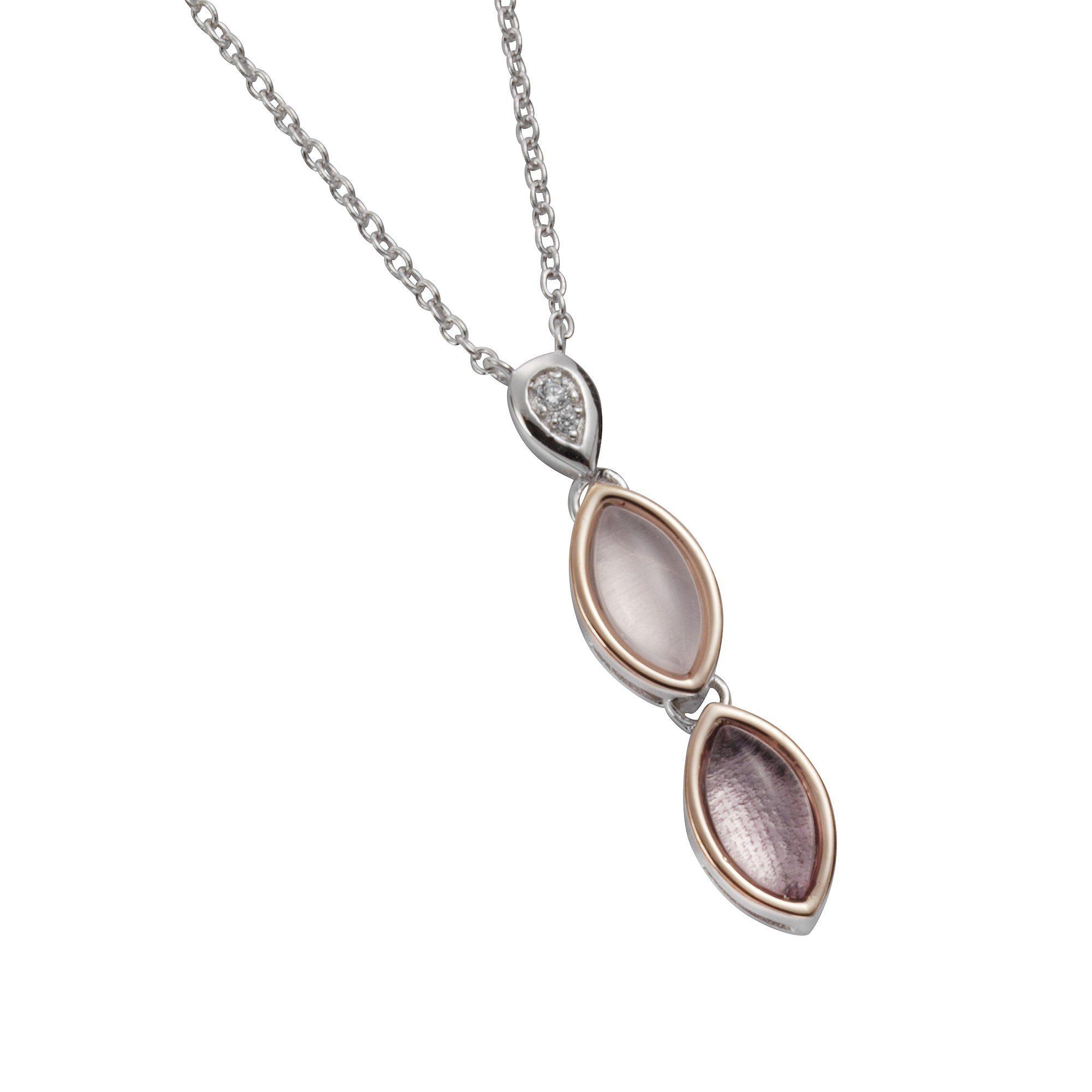 Firetti Collier »925-/ Sterling Silber rosé Zirkonia«