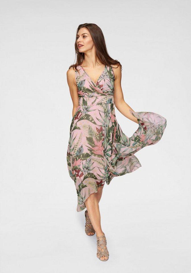 Kleid wickeloptik 44