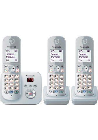 PANASONIC »TG6823G Trio« Bevielis DECT-Telefon (...