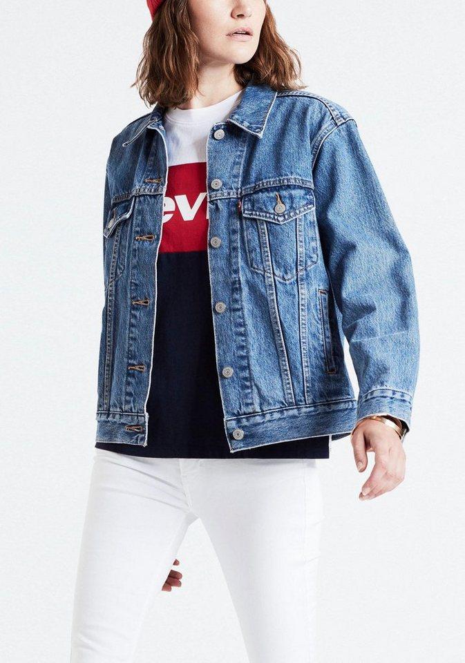 sale retailer 96a39 248b0 Levi's® Jeansjacke »Boyfriend Pailletten« kaufen | OTTO