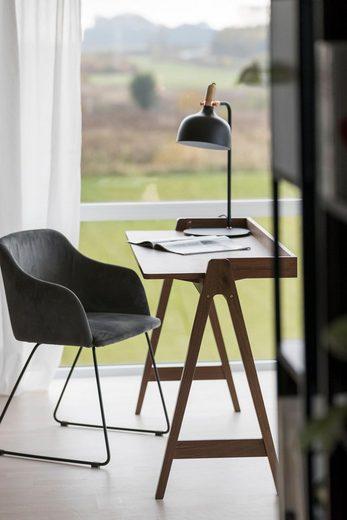 andas Stuhl »Coco« in zwei schönen Bezugsqualitäten, mit Metallgestell, Sitzhöhe 48 cm