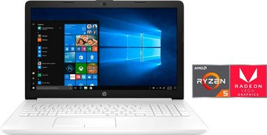 HP 15-db0205/206ng Notebook (39,6 cm/15,6 Zoll, AMD Ryzen 5, 1000 GB HDD, 256 GB SSD)