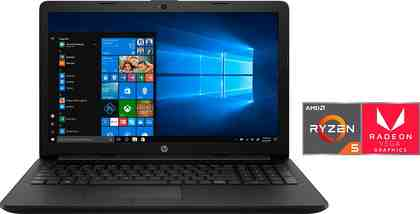 HP 15-db0205/206ng Notebook (39,6 cm/15,6 Zoll, AMD Ryzen 5, Radeon, 1000 GB HDD, 256 GB SSD, inkl. Office 365 Personal (ESD)