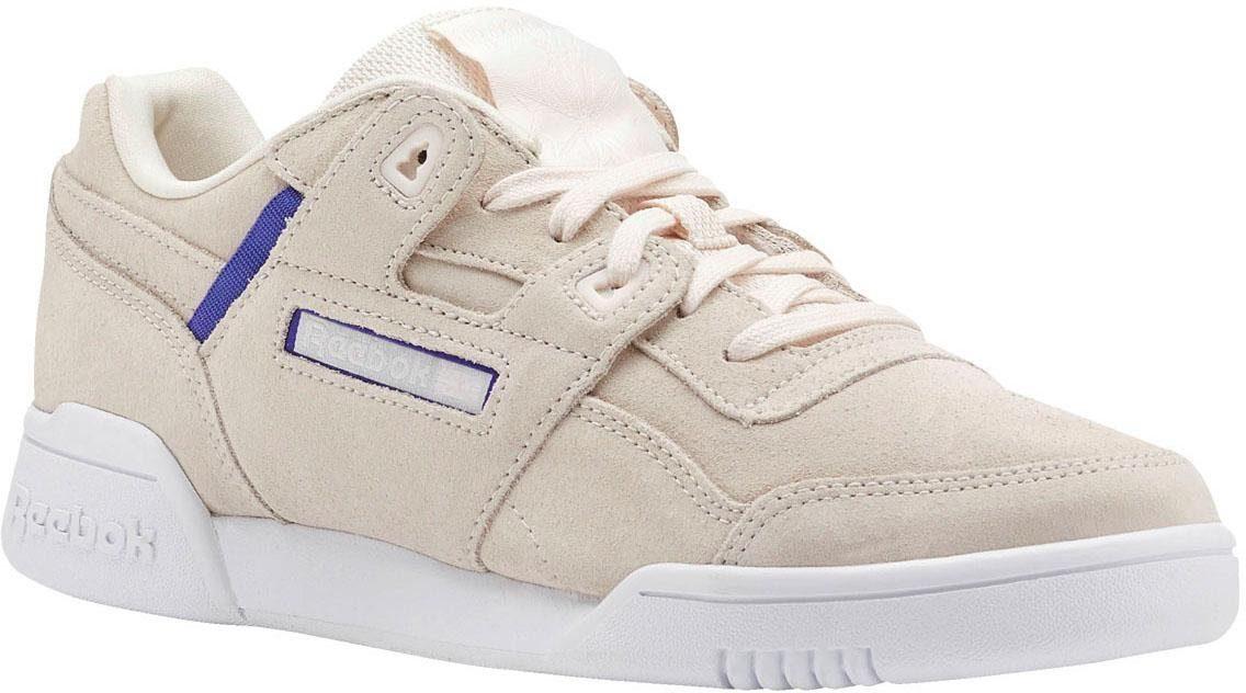 Reebok Classic »Workout Lo Plus« Sneaker, Hochwertiges Obermaterial aus Veloursleder online kaufen   OTTO
