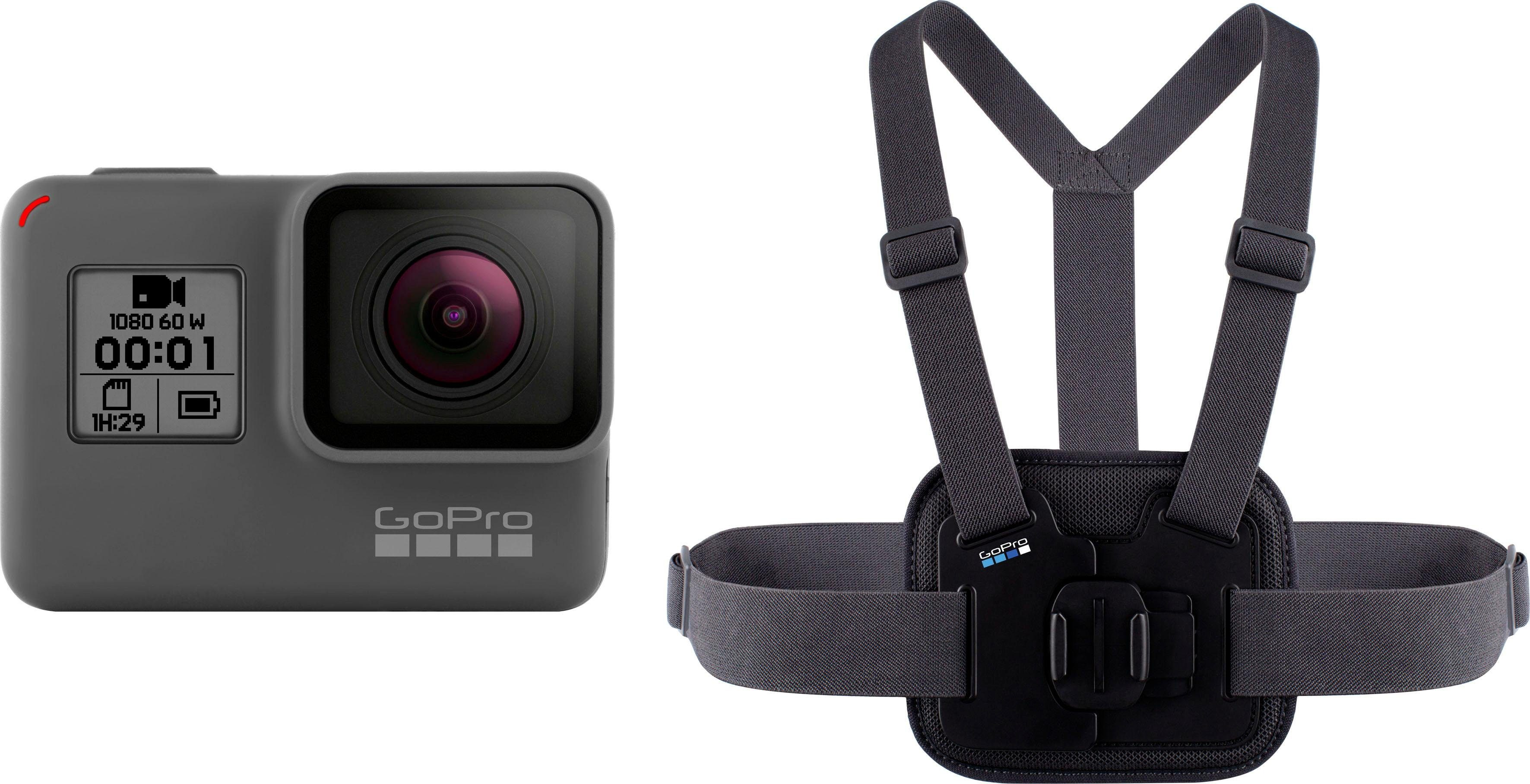GoPro »HERO Chesty Bundle« Action Cam (Full HD, WLAN (Wi-Fi), Bluetooth)