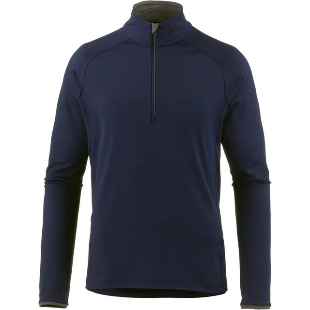KJUS Funktionsshirt »Feel« | Sportbekleidung > Sportshirts > Funktionsshirts | Blau | Polyester - Elastan | KJUS