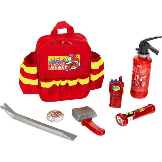 Klein Feuerwehr Rucksack