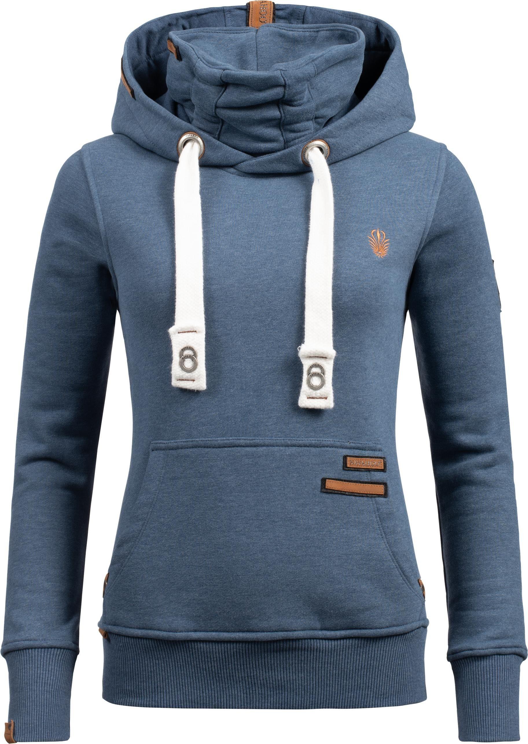 Navahoo Kapuzensweatshirt »Raniaa« weicher Hoodie mit dicken Tunnelzugkordeln an der Kapuze online kaufen | OTTO