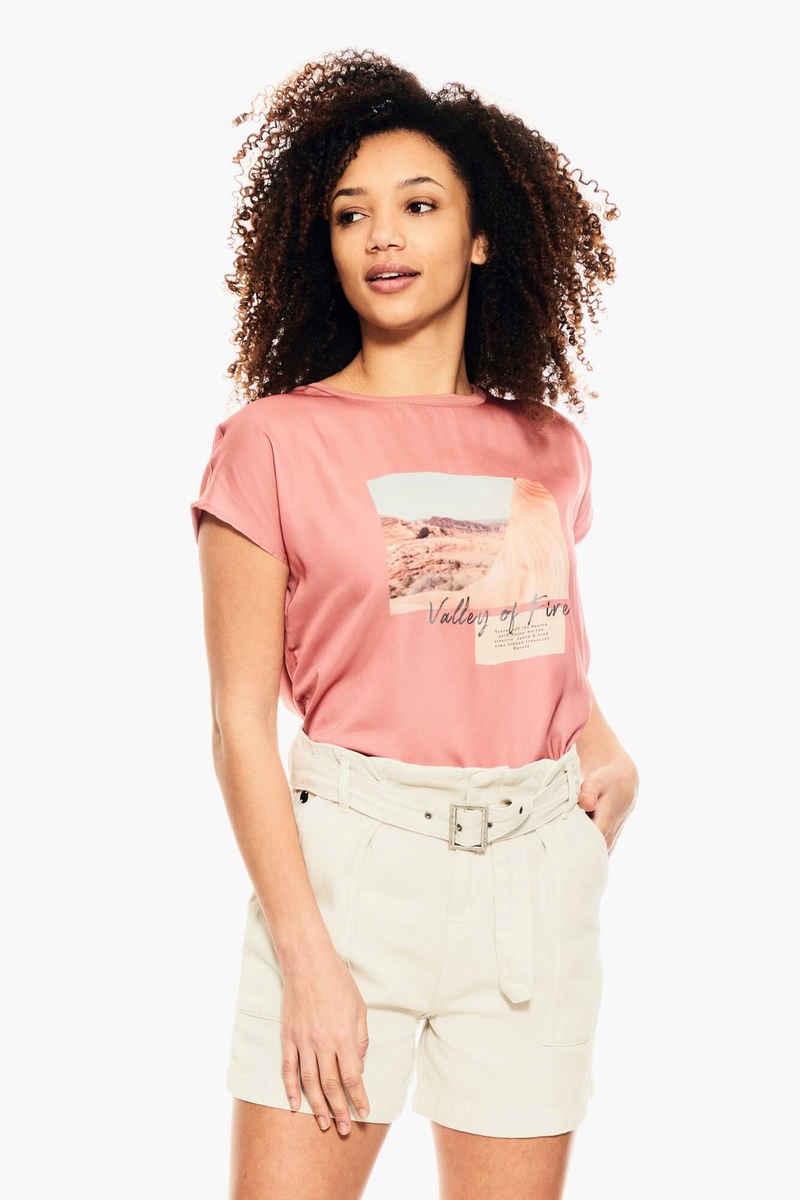 Garcia T-Shirt »E10209« mit rundem Ausschnitt