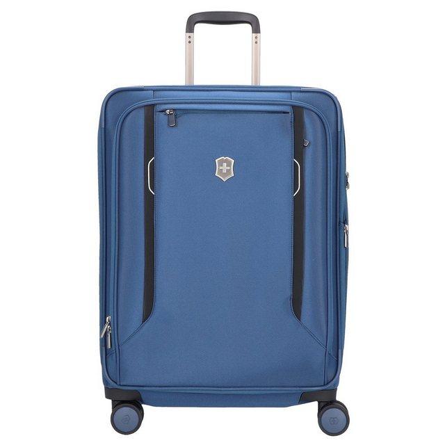Victorinox Werks Traveler 6.0 4-Rollen Trolley 63 cm | Taschen > Koffer & Trolleys > Trolleys | Blau | Victorinox