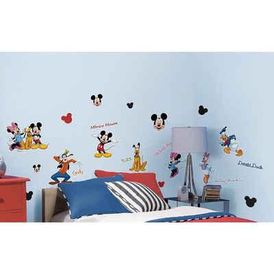 RoomMates Wandsticker »Wandsticker Disney Mickey Mouse & Friends, 30-tlg.«