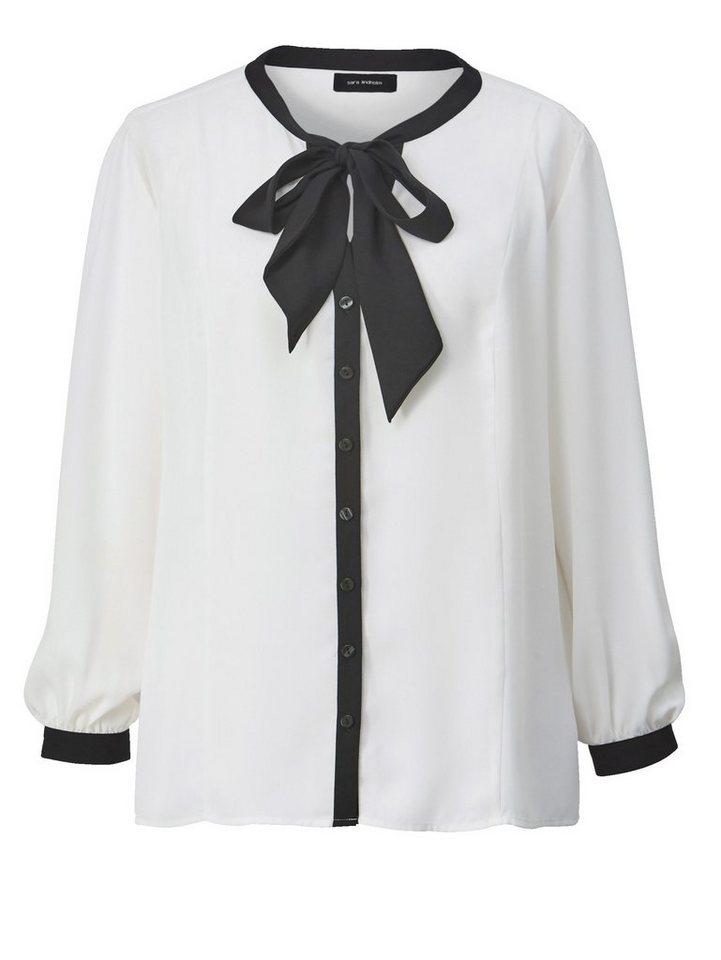 Sara Lindholm by Happy Size Bluse mit Kontrasteffekt online kaufen ... b8af3905ab