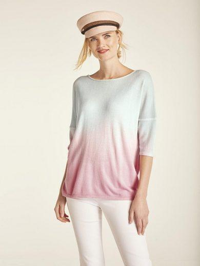 heine CASUAL Пуловер  mit Farbverlauf