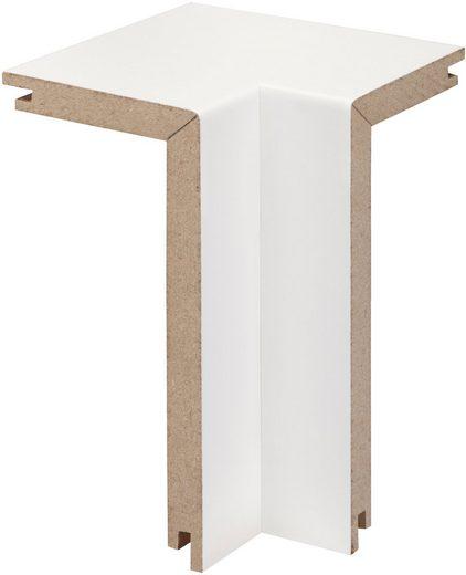 BODENMEISTER Set: Innenecken »Rohrabdeckleiste Weiß«, 2er-Pack, Höhe: 10 cm