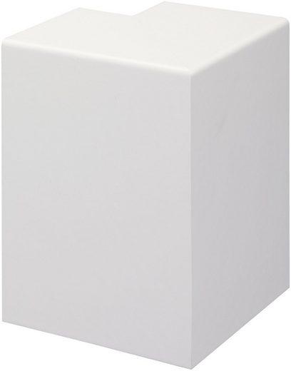 BODENMEISTER Set: Außenecken »Rohrabdeckleiste Weiß«, 2er-Pack, Höhe: 10 cm