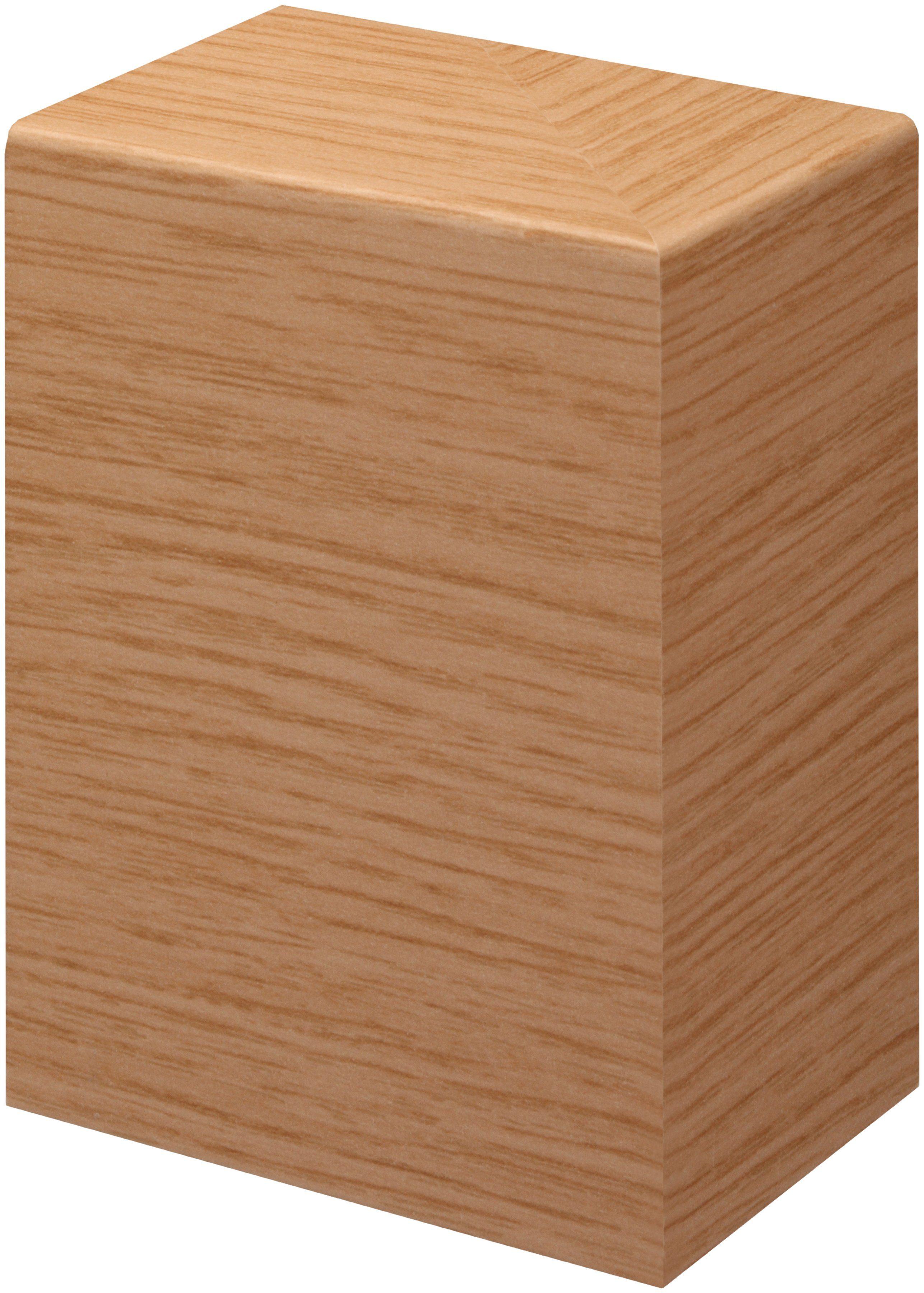 BODENMEISTER Set: Endkappe »Rohrabdeckleiste Eiche«, 2er-Pack (1x rechts, 1x links), Höhe: 10 cm