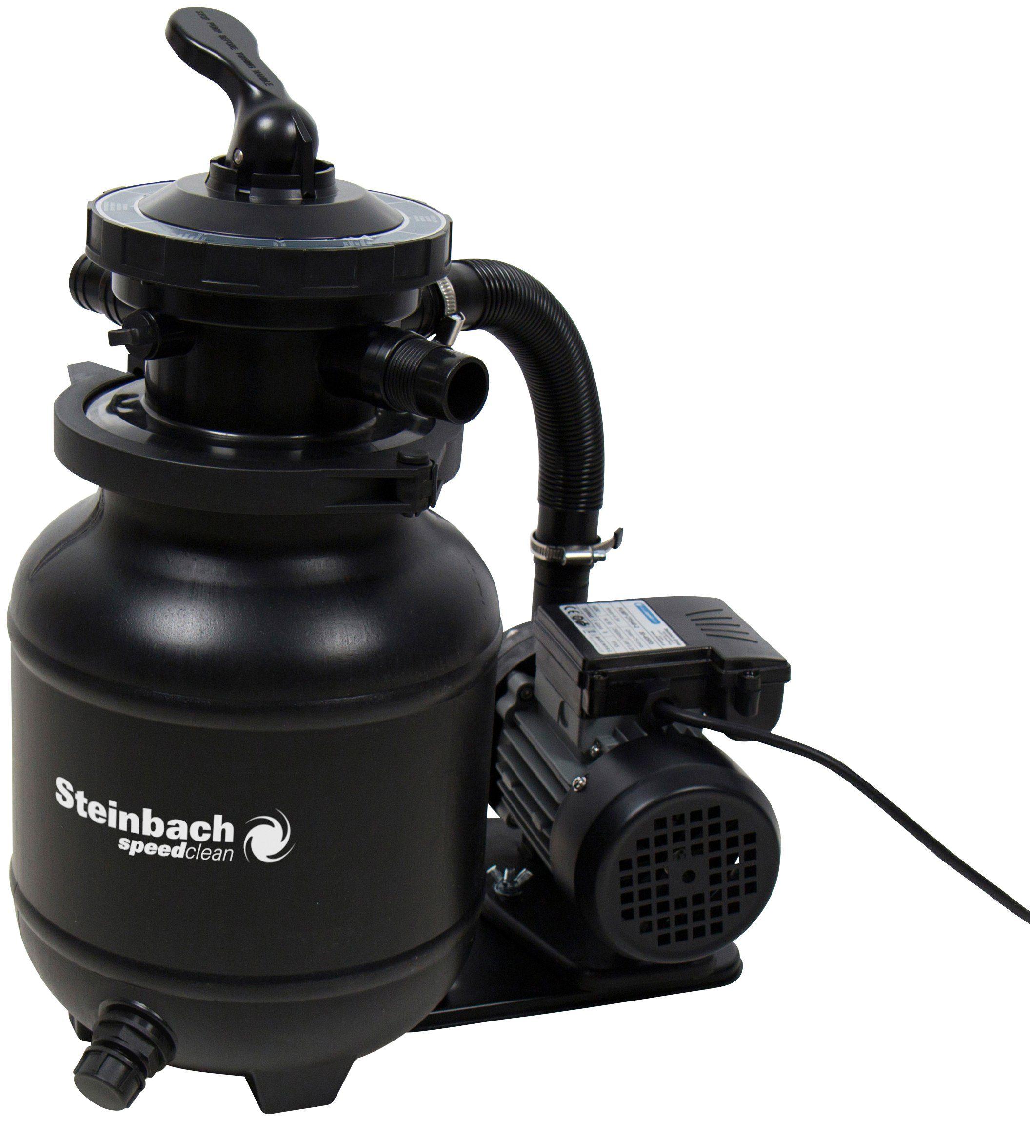 STEINBACH Filterpumpen »Speed Clean Active Balls+«, für Pools bis 19.000 l Wasserinhalt