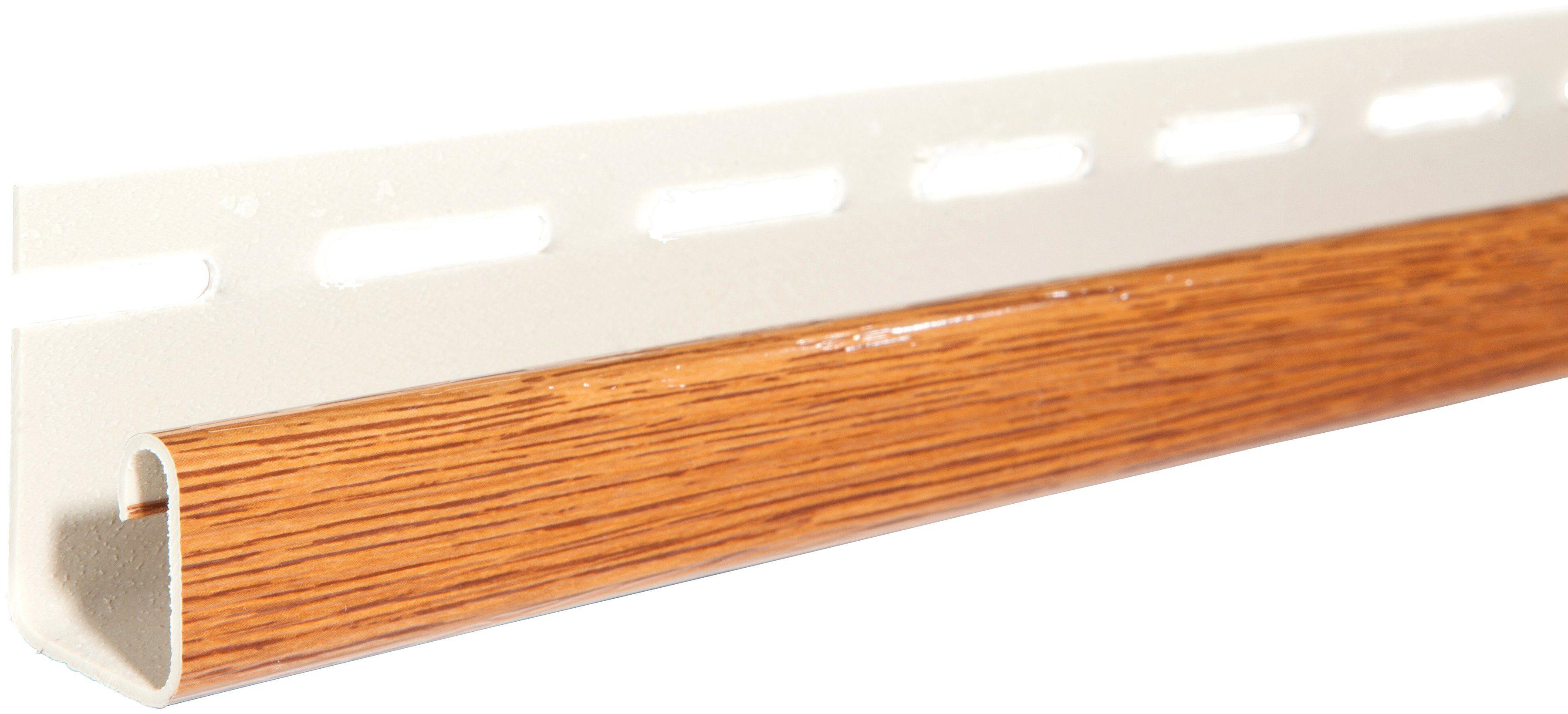 BAUKULIT Set: Abschlussprofil »SOFFIT Golden Oak«, für Dachüberstand, 4er Set, je 1,525 m