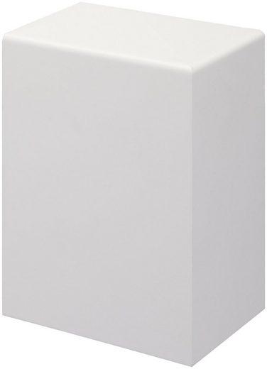 BODENMEISTER Set: Endkappe »Rohrabdeckleiste Weiß«, 2er-Pack (1x rechts, 1x links), Höhe: 10 cm