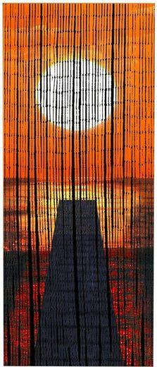 Türvorhang »Sonnenuntergang«, WENKO, Hakenaufhängung (1 Stück)