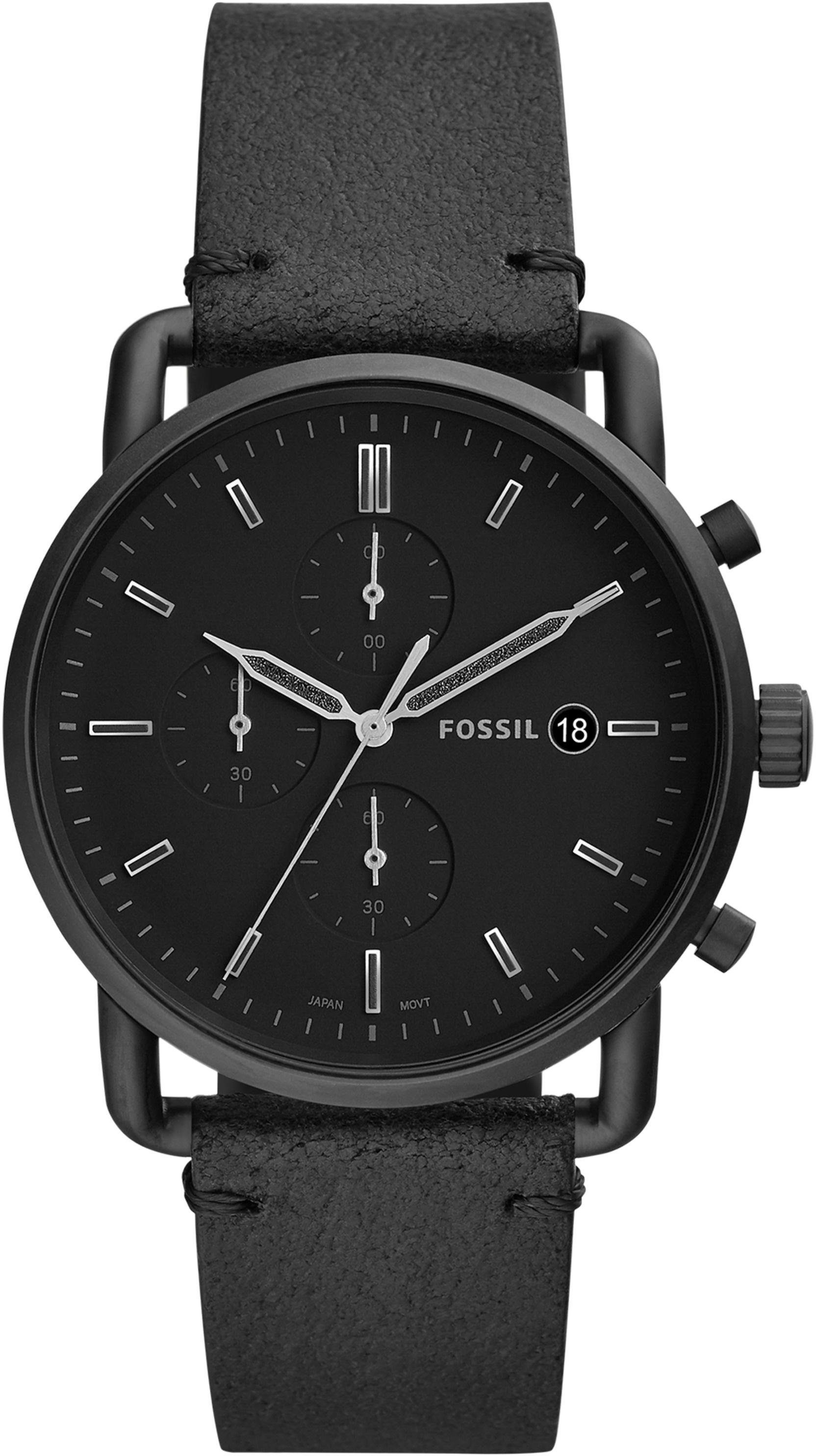 Fossil Chronograph »THE COMMUTER CHRONO, FS5504«