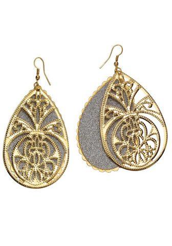 J.JAYZ Pora Auskarai »Tropfen su Ornamente in...