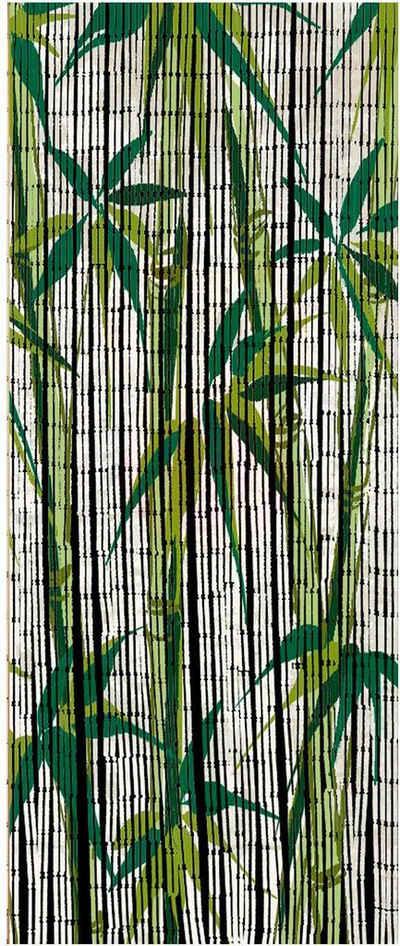 Türvorhang »Bamboo«, WENKO, Hakenaufhängung (1 Stück), für Balkon oder Terasse