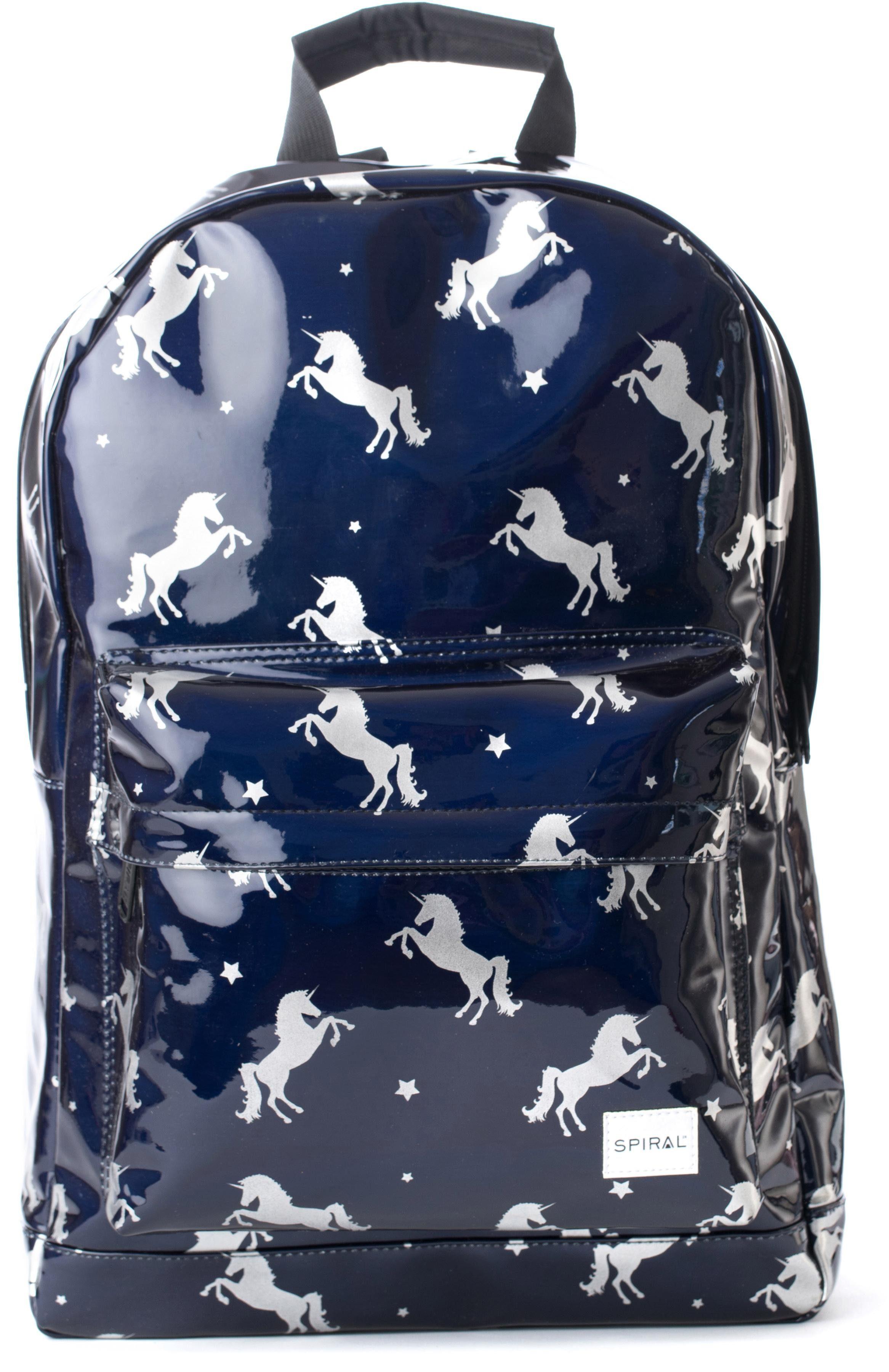 Spiral® Rucksack mit Laptopfach, »OG Platin, Black Unicorns«