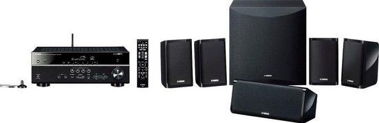 Yamaha YHT-4950 EU Heimkinosystem (200 W, Bluetooth, WLAN, 4K Upscaling, 3D-fähig)