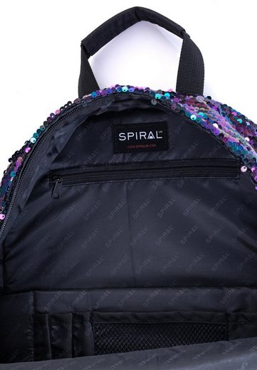 Sequins« Spiral® Laptopfach Mit Rucksack Midnight »og Platin B4Bwpq