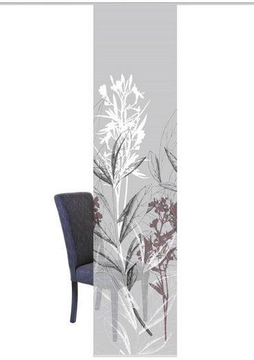 Schiebegardine »SEMORA«, Vision S, Paneelwagen (1 Stück), Schiebevorhang Bambusoptik Digitaldruck