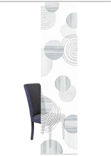 Schiebegardine »NEOMI«, Vision S, Paneelwagen (1 Stück), HxB: 260x60, Schiebevorhang Bambusoptik Digitaldruck