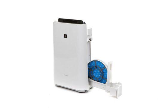 Sharp Kombigerät Luftbefeuchter und -reiniger KC-D40EUW Plasmacluster, für 26 m² Räume