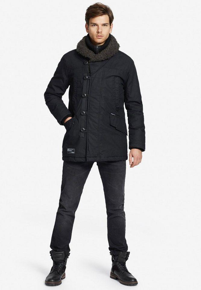 khujo Fieldjacket »PHILO WITH INNER JACKET« mit großem Schalkragen 676cf0d479